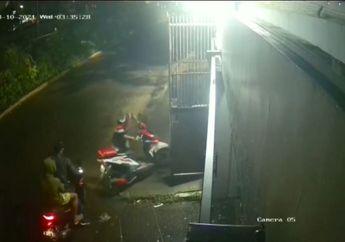 Viral Video Honda BeAT dan 2 Motor Digasak Maling, Waktunya Singkat Banget