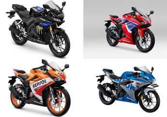 Segini Harga Motor Sport Baru 150 cc Fairing, Yamaha R15 Melonjak?