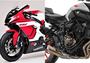 Motor Baru Yamaha R7 Bakal Meluncur, Mesin 689 Cc Buatan Indonesia