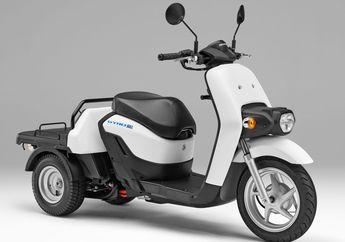Motor Listrik Roda Tiga Dari Honda Bakal Rilis, Pakai Baterai Swap