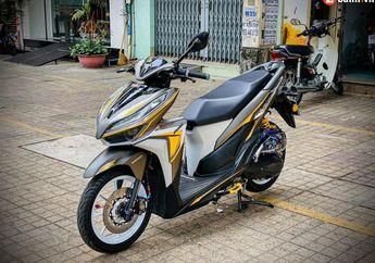 Modifikasi Honda Vario Ini Punya Muka Agresif Plus Grafis Bodi Unik