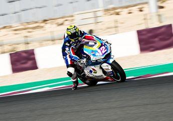 Tes Moto2 Qatar, Pembalap Pertamina Mandalika SAG Team Urutan Segini