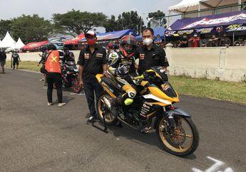 Dewa Road Race  Hendriansyah Nongol  Di Sirkuit Subang, Ikutan Balap?