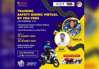 Training Safety Riding Virtual Digelar Yamaha Riding Akademi Makassar