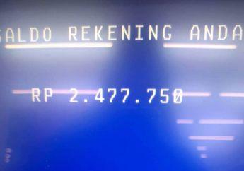 Jangan Kaget Saldo ATM  Bertambah Bantuan Pemerintah Rp 600 Cair Akhir Maret Ini