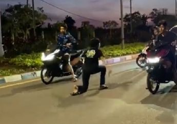 Video Balap Liar Honda PCX 150 Vs Yamaha Aerox 155, Ditinggal Sekebon!