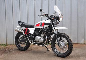 Modifikasi Motor Suzuki Inazuma, Rombak Total Jadi Motor Adventure
