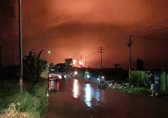 Viral Video Kilang Minyak Pertamina Balongan Kebakaran, Warga Berhamburan