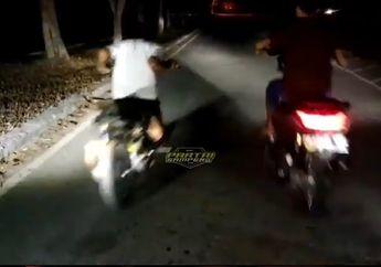 Video, Balap Liar Yamaha NMAX Vs Yamaha Mio, Endingnya Dibikin Malu