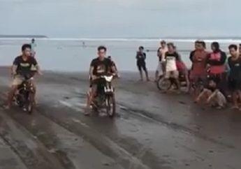 Beda Dari Yang Lain, Video Balap Liar Digelar di Pinggir Pantai Bali