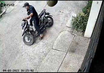 Maling Motor di Bekasi Gagal Gasak Honda BeAT Padahal Berhasil Bobol Kunci Kontak