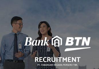 Bank BTN Buka Lowongan Kerja Di Berbagai Wilayah, Lulusan SMA Bisa Daftar