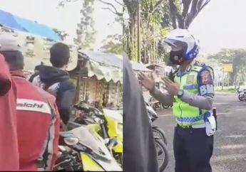 Viral Video Polisi Dikira Razia Bikers, Endingnya Malah Bikin Salut