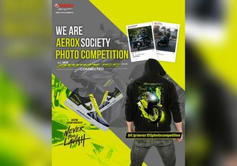 We Are Aerox Society, Kompetisi Foto Berhadiah Produk Hypebeast, Sikat Bro!