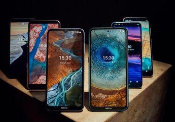 Nokia Resmi Rilis 6 Smartphone Sekaligus, Fitur Komplit Harganya Murah