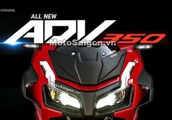 Bakal Dirilis Motor Baru Honda ADV 350, Pakai Mesin Forza 350?