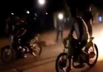 Koplak Pelaku Balap Liar Kocar-kacir Diciduk Polisi, Motor Sampai Ditinggal