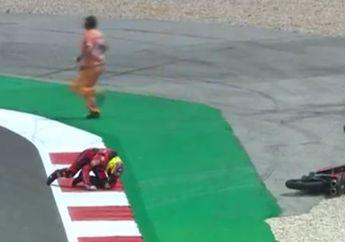 Hasil Kualifikasi Moto3 Portugal 2021, Pembalap Tim Indonesia Crash