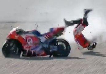 Kecelakaan Hebat Di FP3 MotoGP Portugal 2021, Ini Kondisi Jorge Martin