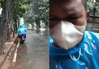 Begal Motor Bermodus Debt Collector Sasar Pemotor di  Kebayoran Lama