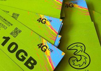 Diam-diam Aja, Tri Punya Paket Internet 50 GB Cuma Rp 10 Ribu Doang