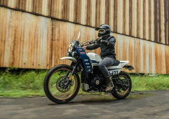 Ini Dia Modifikasi Kustom Unik Royal Enfield Himalayan Karya Thrive Motorcycle