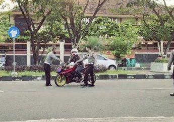 101 Motor Knalpot Brong Diamankan Dalam 3 Jam, Hanya 48 Motor Yang Ditilang, Ini Kata Polisi