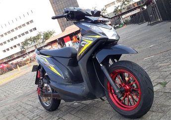 Irit Banget Tanpa Bensin Honda BeAT Bisa Kecepatan 170 km/Jam