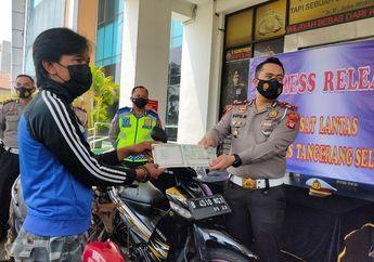 Viral Pemotor Atraksi di Bintaro, Malah Dapat Motor Bekas dari Polisi