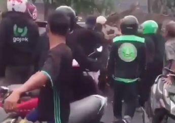 Tangerang Mencekam, Debt Collector Cekcok Pemotor Berhamburan