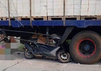 Nahas, Seorang Ayah yang Ingin Temui Putrinya Kecelakaan Motor, Tabrak Truk Hingga Tewas