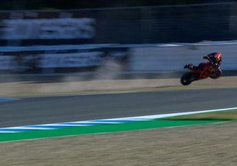 Ngeri, Brad Binder Kecelakaan Sampai Terbang Saat FP3 MotoGP Spanyol 2021, Ini Penyebabnya