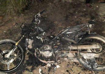 Bikin Geger, Motor Yamaha Jupiter MX Sengaja Dibakar, Ini Alasannya