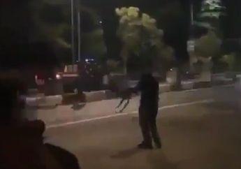 Mencekam, Video Polisi Tembaki Pemuda Yang Menggelar Aksi Balap LIar