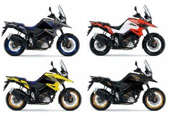 Motor Adventure Suzuki Ada Warna Baru, Harga Bikin Melongo