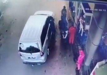 Viral Video Sopir Avanza Ancam Pemotor Pakai Pistol, Mengaku Polisi