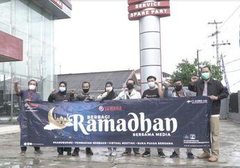 Mantap! Ramadhan Yamaha Roadhshow, Bagi Takjil dan Sembako