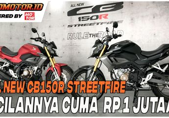 Video Ciciclan Honda All New CB150R , Cuma Segini Bulanannya Bro