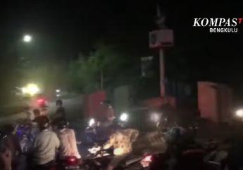 Mencekam, Video Detik-detik Aksi Balap Liar Dibubarkan Oleh Polisi