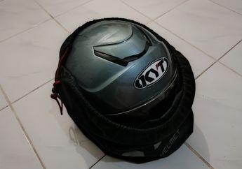 Lagi Libur Lebaran, Jangan Lupa Gunakan Sarung Helm Saat Enggak Dipakai