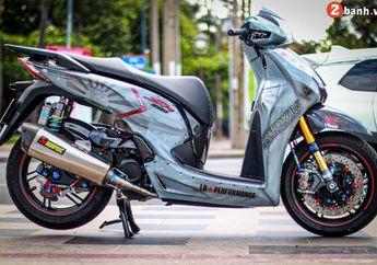 Super Hedon, Modifikasi Honda SH300i, Kaki Kekar Comot Part Moge