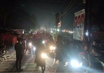 Lewat Jalan Tikus, Ribuan Pemudik Lolos Pos Penyekatan di Indramayu