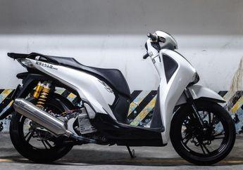 Skutik Gambot Honda SH300i Kena Modifikasi Minimalis, Fokus Aksesoris