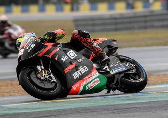 Gak Ada Aprilia RS-GP Sukses Finis Di MotoGP Prancis 2021, Ada Apa?