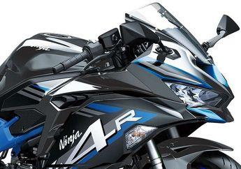 Kawasaki Siapkan Kakak Ninja ZX-25R, Mesin Lebih Besar dan Double Disk