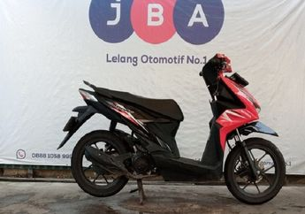 Wuih Honda BeAT Dilelang Cuma Segini, STNK BKPB Komplit Pajak Hidup