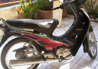 Honda Supra Dilelang Murah Meriah Cuma Rp 810 Ribuan, STNK dan BPKB Komplit