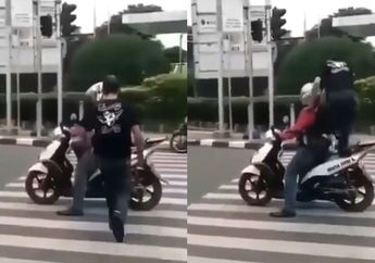 Viral Video Jok Motor Diinjak Saat Berhenti di Zebra Cross, Ini Dasar Hukumnya