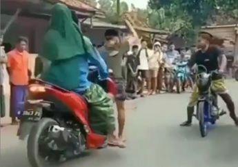 Koplak, Video Balap Liar Tiba-tiba Diterobos Bapak-bapak Jelang Start