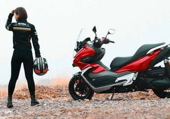 Meluncur Motor Matic Adventure Baru, Mesin Jumbo, Mirip Honda ADV150